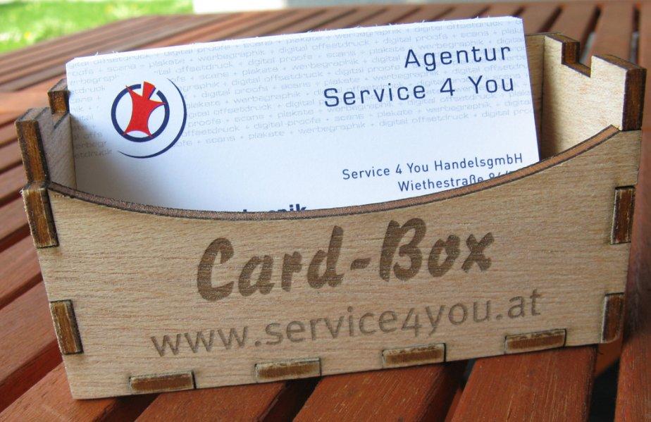 Visitenkartenbox